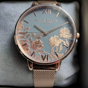 Olivia burton flower floral watch